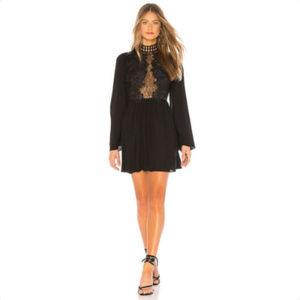 FREE PEOPLE Divine Mini Dress, Size 6 S, Lace